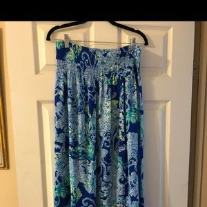 NWT Lilly Pulitzer Bodhi Maxi Skirt